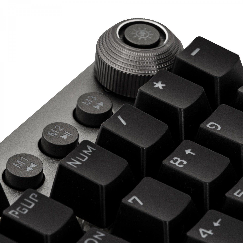 teclado gamer mecanico fortrek gpro k7 rbw 4286