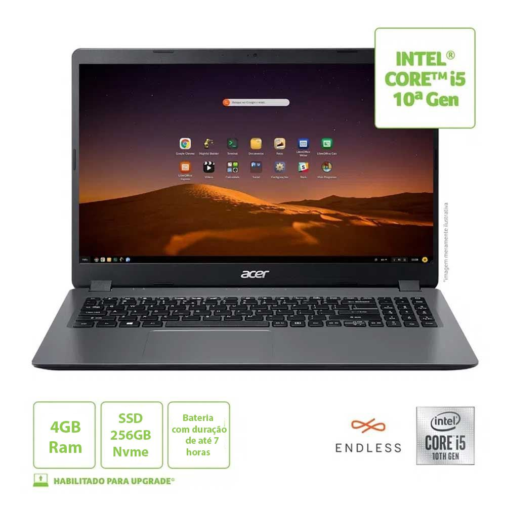notebook acer aspire 3 15 6 i5 8gb 1tb128ssd endless 346720 1