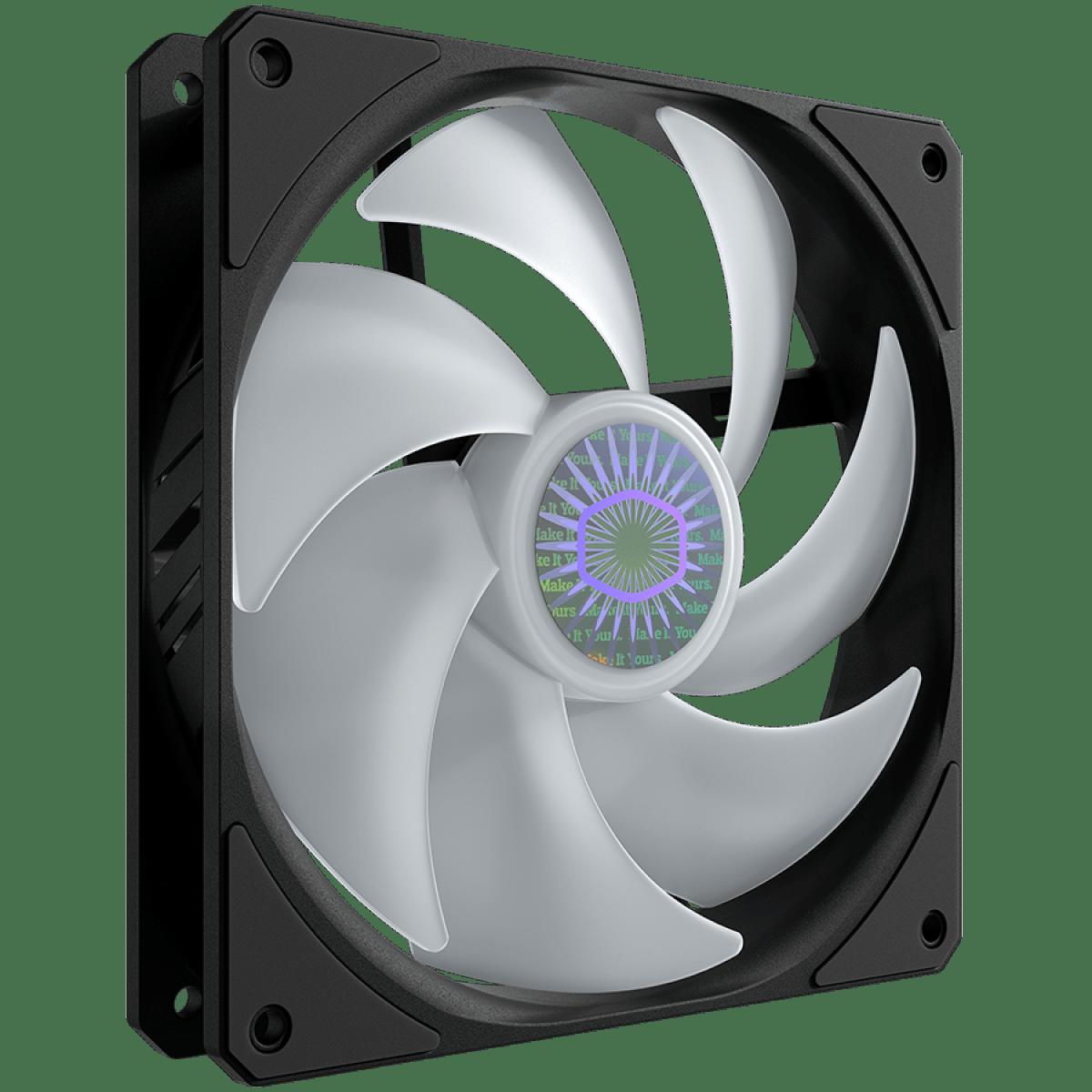 cooler para gabinete cooler master sickleflow mf140 argb 140mm 1800rpm mfx b4dn 14npa r1 104806